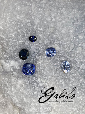Sapphire cut with MSU Gem Report
