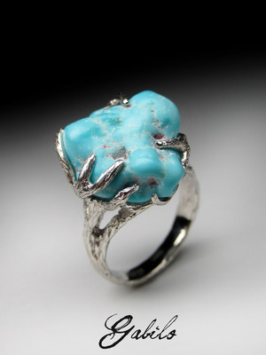 Turquoise silber ring