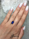 Kyanite cut 6х10 2.95 ct