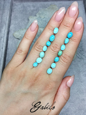Natural Iranian turquoise