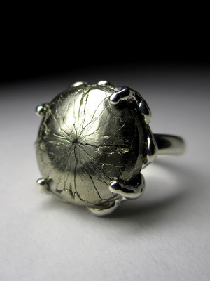 Ring mit Pyrit