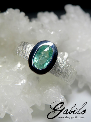 Tourmaline Paraiba Gold Ring